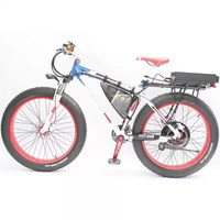48V 1500 wattage snow e rocket electric bike