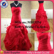 E Elegant sweetheart neckline ball gown beautiful beautiful red wedding dresses