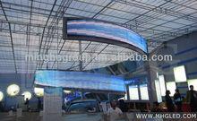 Newest Indoor & Outdoor Irregular shape spiral LED screens