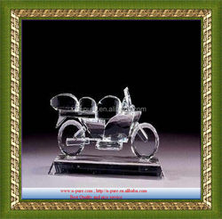 Hand Made Crystal Motorcycle Gift,crystal bicycle