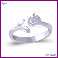 Sterling Silver 925 Cubic Zirconia Open Silver Rings 925 Sterling Silver King And Queen Couple Ring