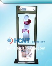 New Invention ! magnetic levitation led display rack for underwear, womens hot sex push up bra images