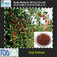 Hot Selling Pure Natural Polysaccharides 10% Organic Goji Berry Extract