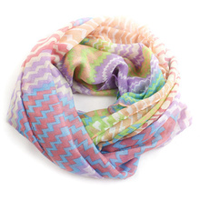 comfortable hot spring printed winter long scarves