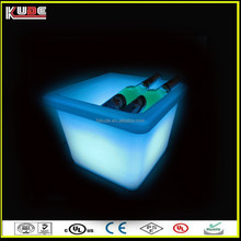 Colour Changing led ice container/wine stand cooler