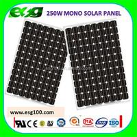 Factory Price mono solar panel 100w 250w 300w solar pv module