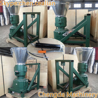 Tractor power outdoor used wood pellet machine