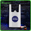 Cheaper manufacturer price NIVEA vest handle carrier plastic bag with high quality printing