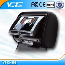 9 inch car dvd players back seat with SD/USB/Game function