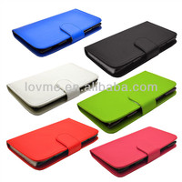 Hot selling leather case cover for huawei ascend y300