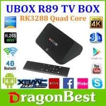 UBOX R89 RK3288 TV BOX Support 4K Skype/QQ/MSN/GTALK Wifi Bluetooth