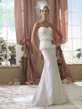 white satin sleeveless vintage lace wedding dresses 2012 robe de mariage