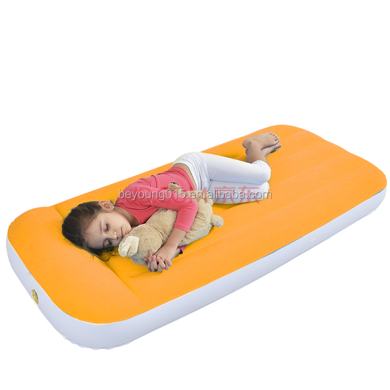 Cheap Kid Air BedInflatable Kids Bed With Built In Pillow