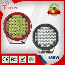 "High power 16650LM 9"" 185W led work light car for suv off road 4x4"