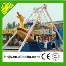 Thrilling and exciting amusement park rides 24 seats pirate ship for sale