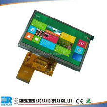 TFT Color LCD Display Module with Capacitive Touch Panel For 4.3inch Meter LCD