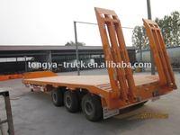 Utility Low bed truck semi trailer