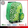 3D cheap fashion detachable wheeled girl trolley school bags for boys