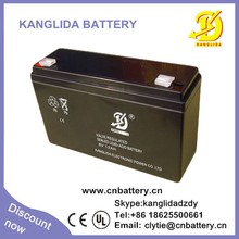 6v 12ah the best suitable children's toy car battery