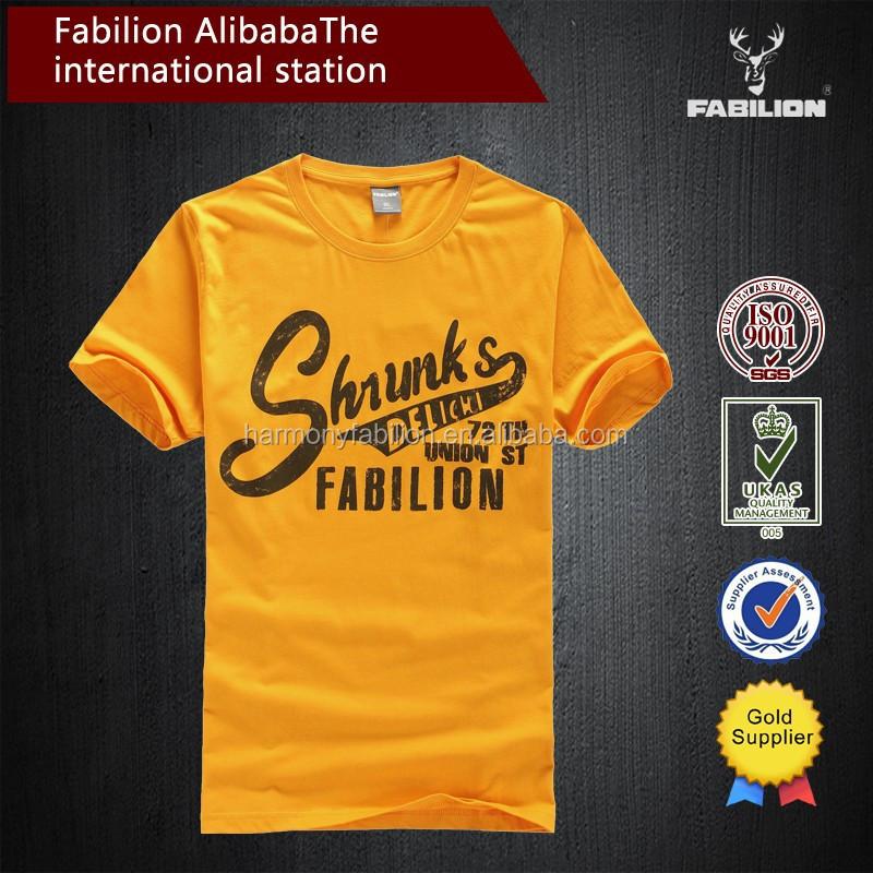 High Quality 100 Cotton Printing T Shirt Wholesale China