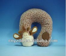 Deer neck cushion/plush animal cushion for kids/plush animal cushion