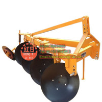 Agricultural machine garden plow coulter