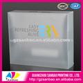 2014 de alta gama eco- ambiente de plástico transparente envasadodealimentos caja