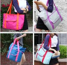 Wholesale Portable Folding Nylon Tote Bag