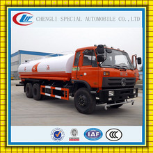 DongFeng 20000L Water Tanker Spraying Truck 6x4 Water Bowser tank truck 20 ton Road washing vehicle