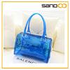2015 Wholesale Summer Transparent Ladies Bag Candy Beach Bag