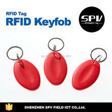 Multifunctional rfid em4100 key fobs