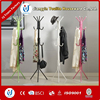 Standing hanging clothes rack for bedroom