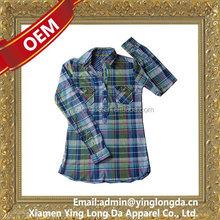 Contemporary promotional women long sleeve dress shirts new