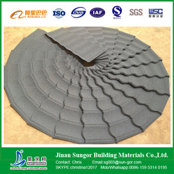SGB 5 Types Stone Coated Metal Roof Tile with Various Color