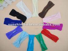 """2"""" Baby Nylon Headbands Pantyhose Newborn Soft Nylon Headband Color Mix"""