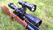 Quick Release Torch Clamp-Rifle Scope Hunting Flashlight Mount