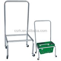 Cheap High Quality Supermarket Baskets Stackers Shopping Basket HolderRH-SBH03