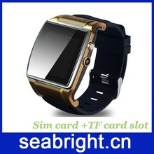 latest bluetooth wrist watch mobile phone for Samsung Galaxy Gear with sim card slot