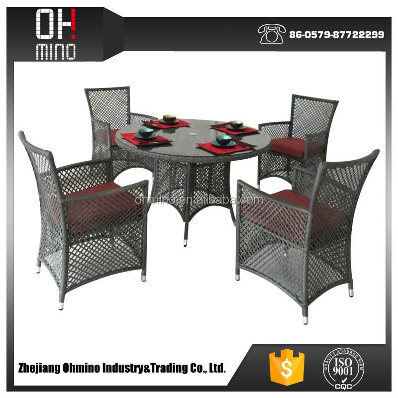 Dc-001 jardín formas de ocio patio de mimbre muebles de exterior ...