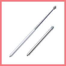 stainless steel flexible hand held flag pole