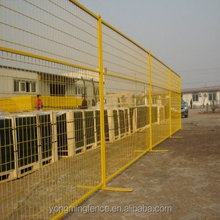 manufacturer provide 2015 hot sale temporary chain link fence