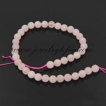 SP0797 Hot Sale Cheap Rose Quartz Faceted Round Beads Wholesale