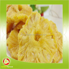 new crop dried fruit dry pineapple ring for good quality