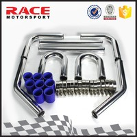 Universal Turbo Intercooler Pipe Kit, Water to Air Intercooler Pipe, Aluminum Water Cooled Intercooler