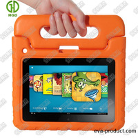 """Childproof 7"""" tablet case with handle for Amazon Kindle fire HD 7"""
