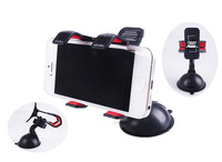 Black Vehicle-mounted mobile phone holder for various kind smart phone Ipad Stent Car on-board navigation GPS protector