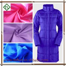polyester taffeta lining/down jacket lining taffeta fabric