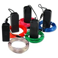 el wire waterproof el wire waterproof electrical wires decoration thin rope light neo neon rope light
