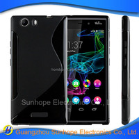 wholesale alibaba soft tpu mobile phone case For Wiko Ridge 4G skin