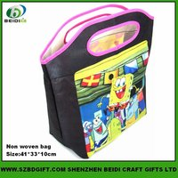 Sublimation Printed High Quality Polyester Tote Bag for Promotion